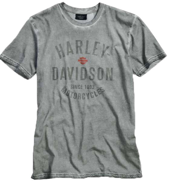 http://www.adventureharley.com/harley-davidson-mens-since-1903-tee-t-shirt-charcoal
