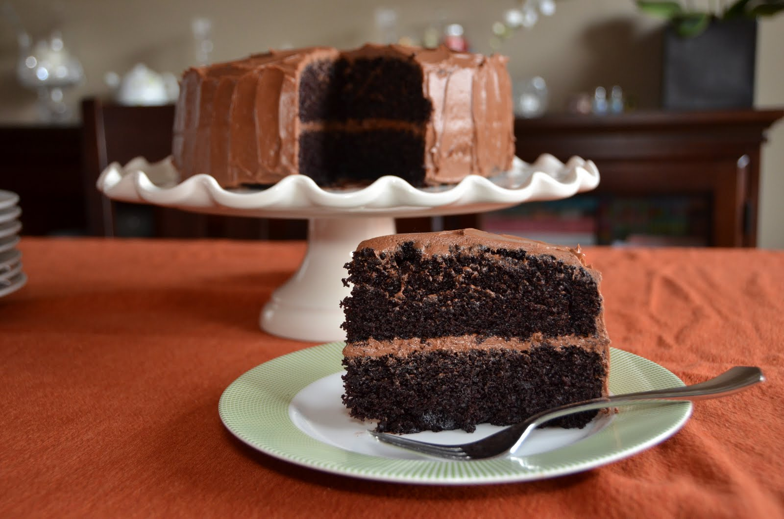 Inch Chocolate Cake Recipe