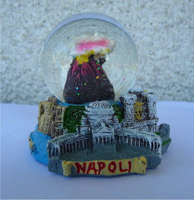 Palle di neve - Boule à neige - Snow globe: Napoli