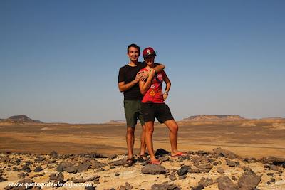 Desierto negro - Viaje a Egipto
