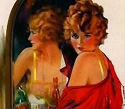 Propaganda machista do sabonete Palmolive nos anos 40.