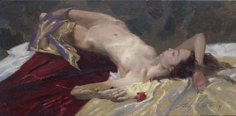 Alexey Steele 1967 ~ Russian-born American painter | The Novorealism Movement