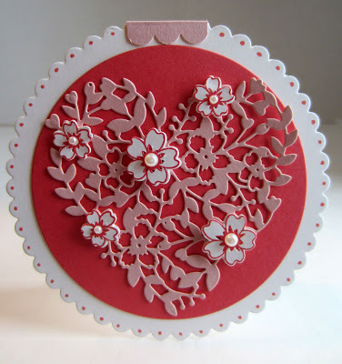 cut out heart valentine
