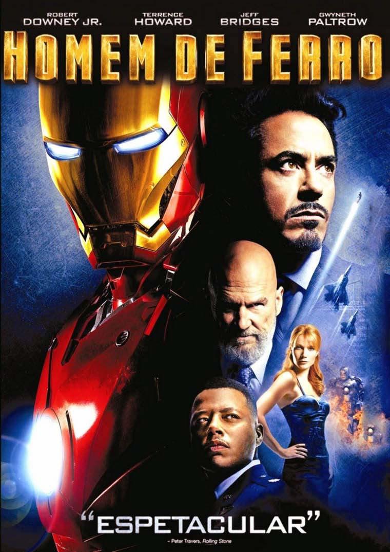 Homem de Ferro Torrent - BluRay 720p/1080p Dual Áudio