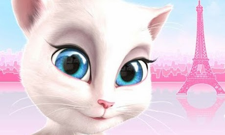 Join Talking Angela in Paris, the city of love and style! Wow her and
