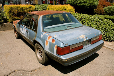 Paint Recall 1989 Ford Mustang LX.