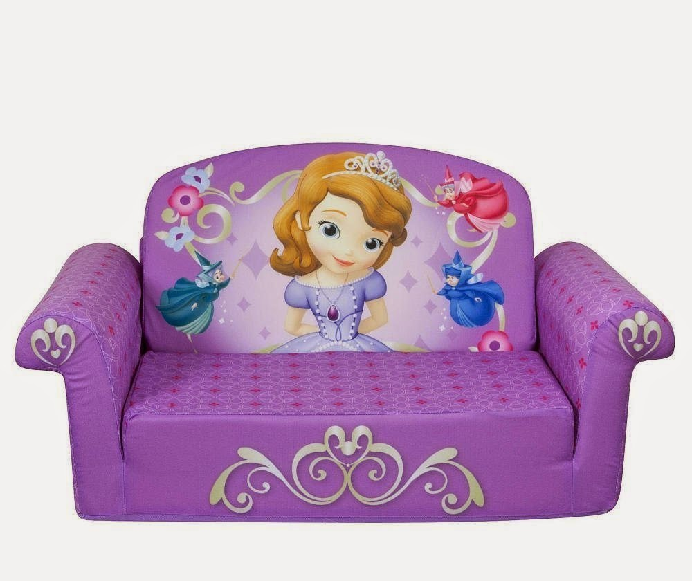 Disney Sofia The First Couch Flip Sofa