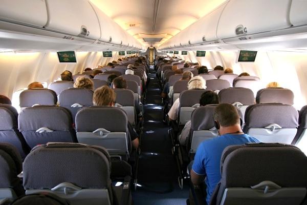 Kabin penumpang pesawat terbang