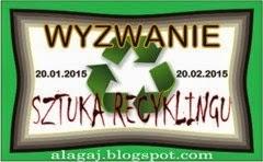 ala gajewska, wyzwanie, recykling, alagaj.blogspot.com
