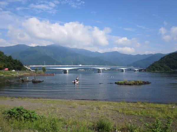 kavaguchi-ko lake