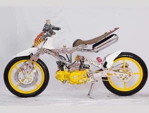 Foto Modifikasi Motor Yamaha VEGA R dan ZR title=