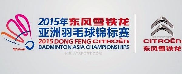 Jadwal Badminton Asia Championships, 23 April 2015