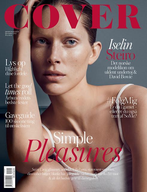 Fashion Model, @ Iselin Steiro By Hasse Nielsen For Cover Denmark, December 2015