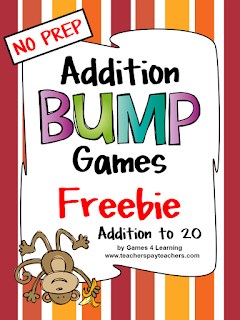 https://www.teacherspayteachers.com/Product/Addition-Games-828847