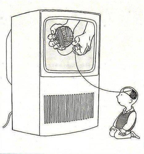 Negative effects of television on society