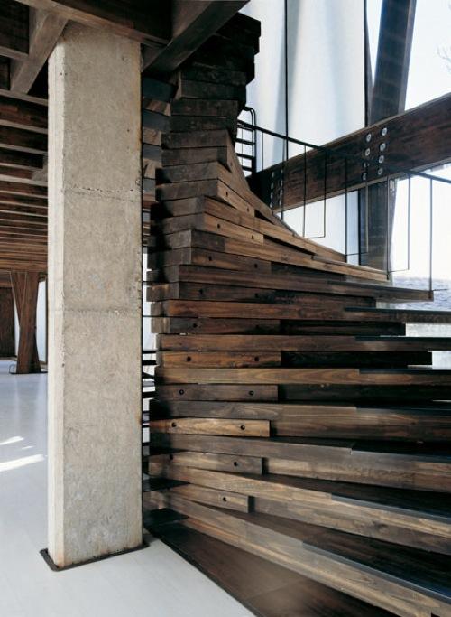 the arquitectura y dise o asombrosos dise os de escaleras. Black Bedroom Furniture Sets. Home Design Ideas