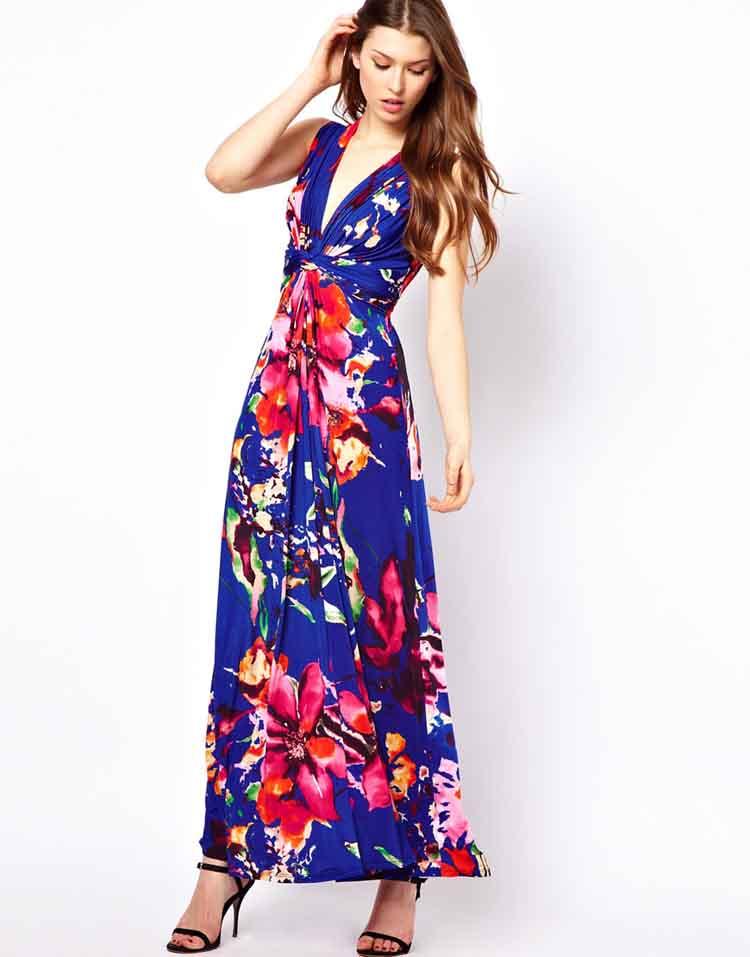 2013 cicek desenli elbise modeli7 2013 Çiçekli elbise modelleri