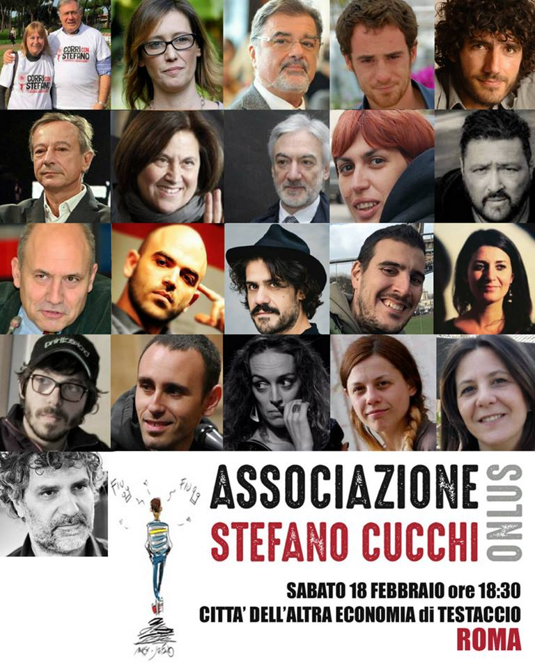 Presentazione Associazione Stefano Cucchi - a Roma il 18 Febbraio