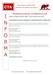 OBSERVEN EL BOJA DEL 5 DE MARZO DE 2018