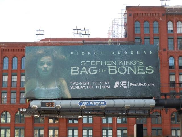 Bag of Bones TV billboard