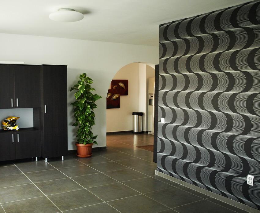 Pittura soggiorno moderno idee per interni e mobili - Idee pitture interni ...