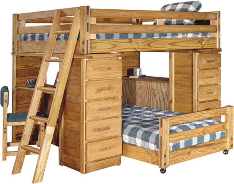 Woodwork Inexpensive Bunk Bed Plans PDF Plans