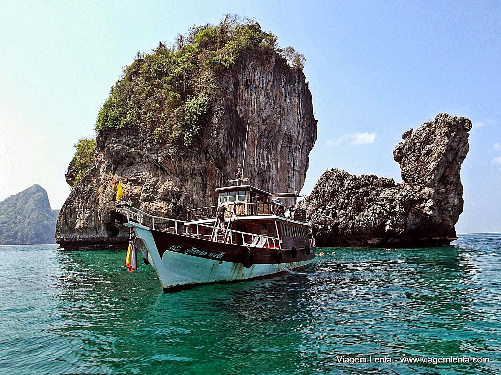 Relato de viagem a Krabi, Au Nang e ilhas de Koh Phi Phi. Cenários paradisíacos dignos de total relaxamento.