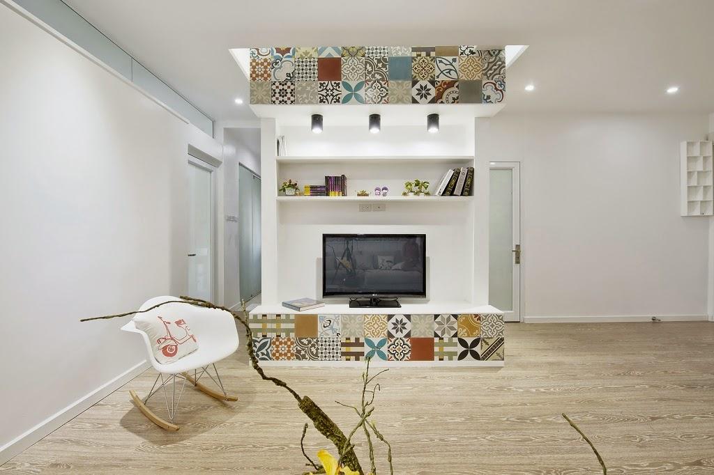 Keramik Bermotif Untuk Aksen Interior 6