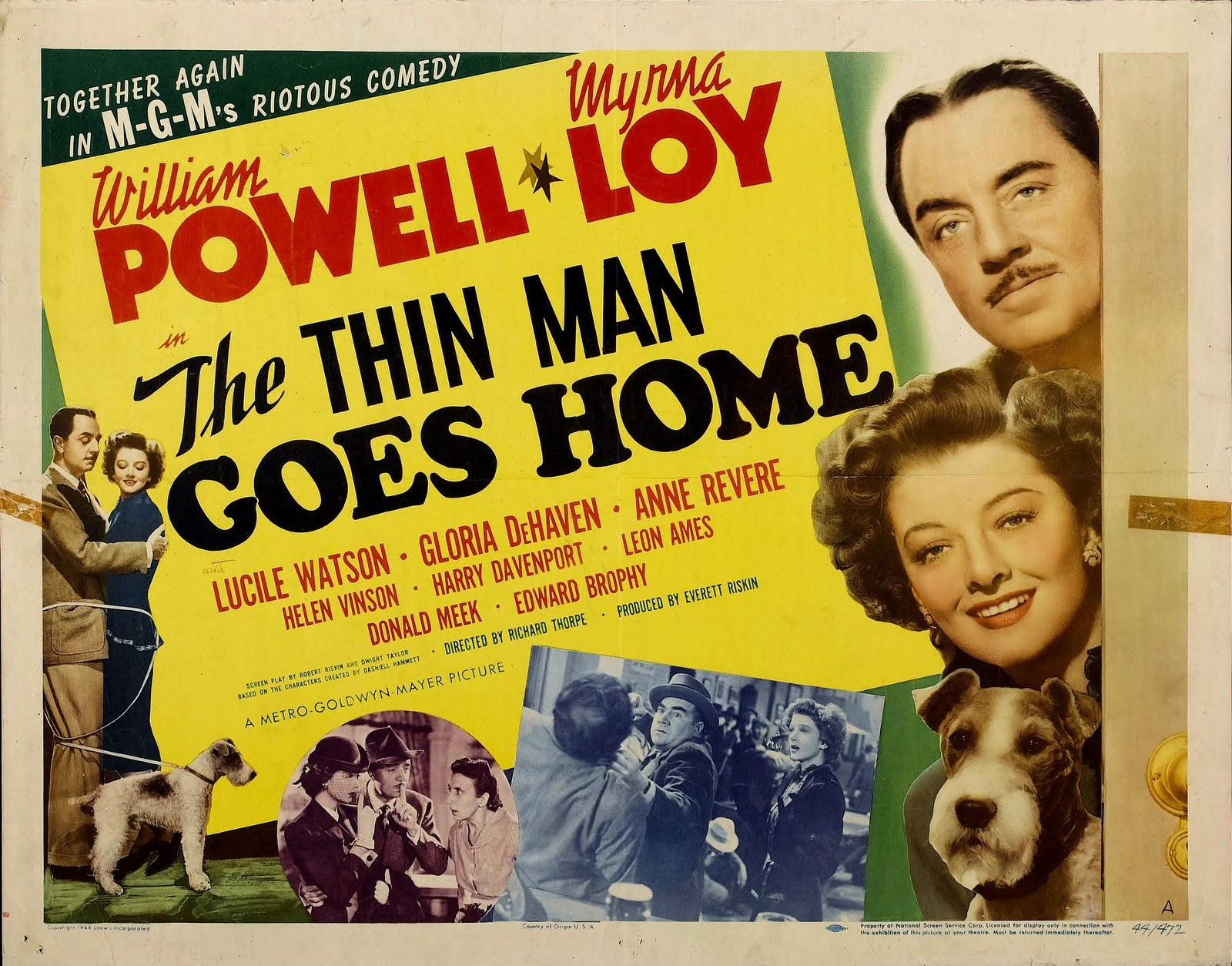 Image result for the thin man goes home