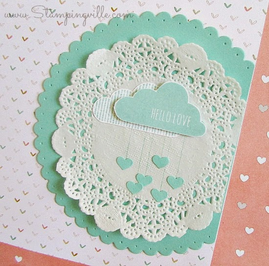 Hello Love: Welcome Baby | Stampingville #rubberstamping #papercrafts #StampinUp