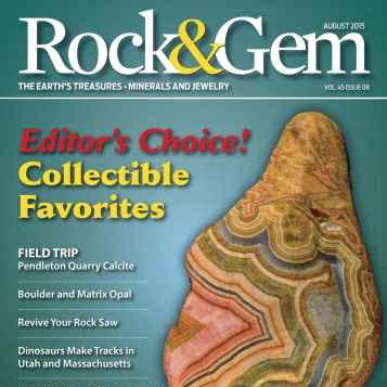 Rock & Gem magazine | August 2015 - Download