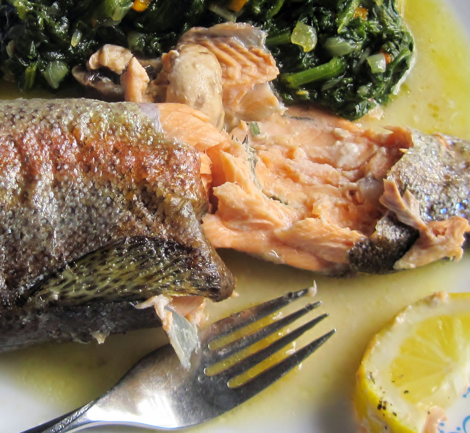 Recipe for stuffed trout