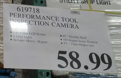 Deal Performance Tool W50045 Inspection Camera at Costco