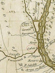 EL RINCON DE GABOTO EN 1810 Y AÑOS POSTERIORES (con motivo del BICENTENARIO)