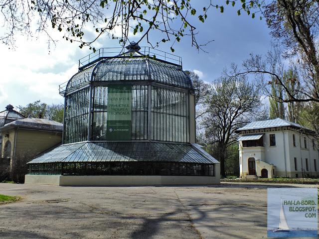 pavilion padurea tropicala gradina botanica bucuresti