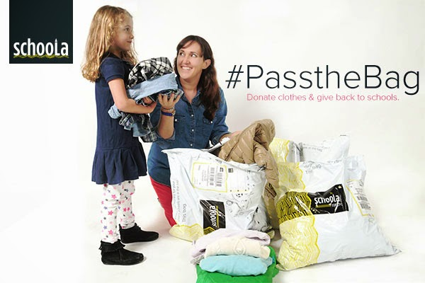 I Challenge You to #PassTheBag #Used #KidsClothes Benefits Schools #causes #education