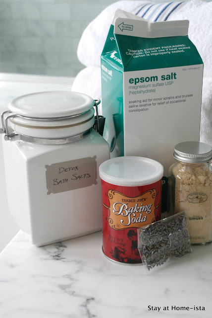 How to make your own detox bath salts at home