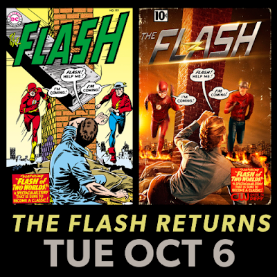 The Flash Season 2 First Look: Teddy Sears as Jay Garrick
