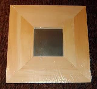 De todas las manualidades marco espejo con papel aluminio - Espejo de papel ...