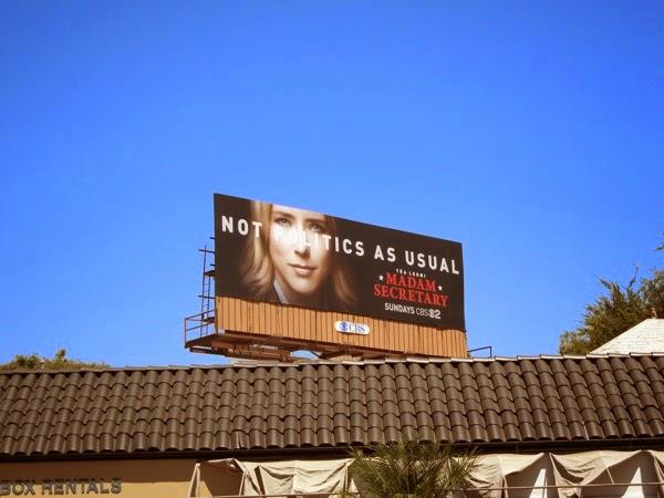 Madam Secretary season 1 billboard