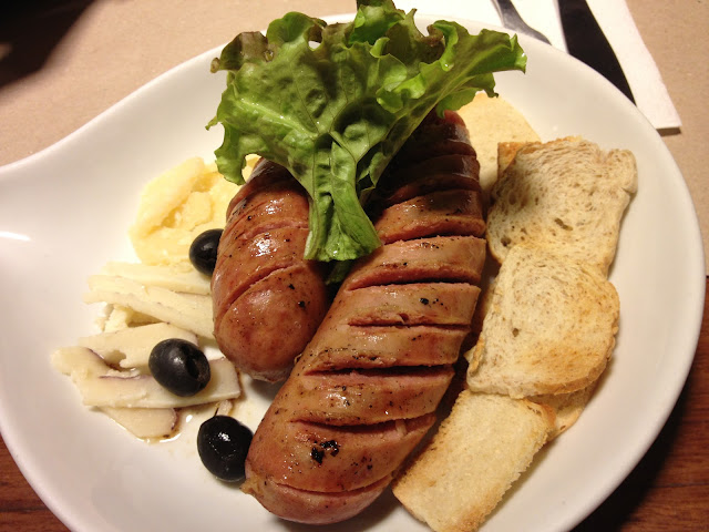 German Sausage and Cheese Platter by Poco Deli