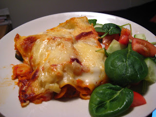 lasagne med tomatsås