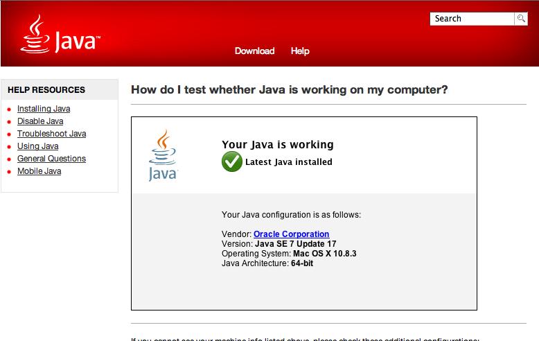 NETícias: MacOSX + Java 7 + Chrome + Banco do Brasil, não ...