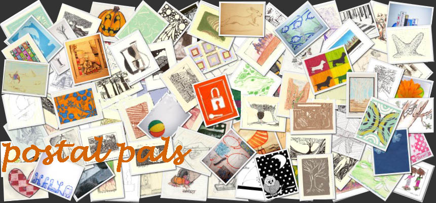 Postal Pals: postcards from everywhere to somewhere
