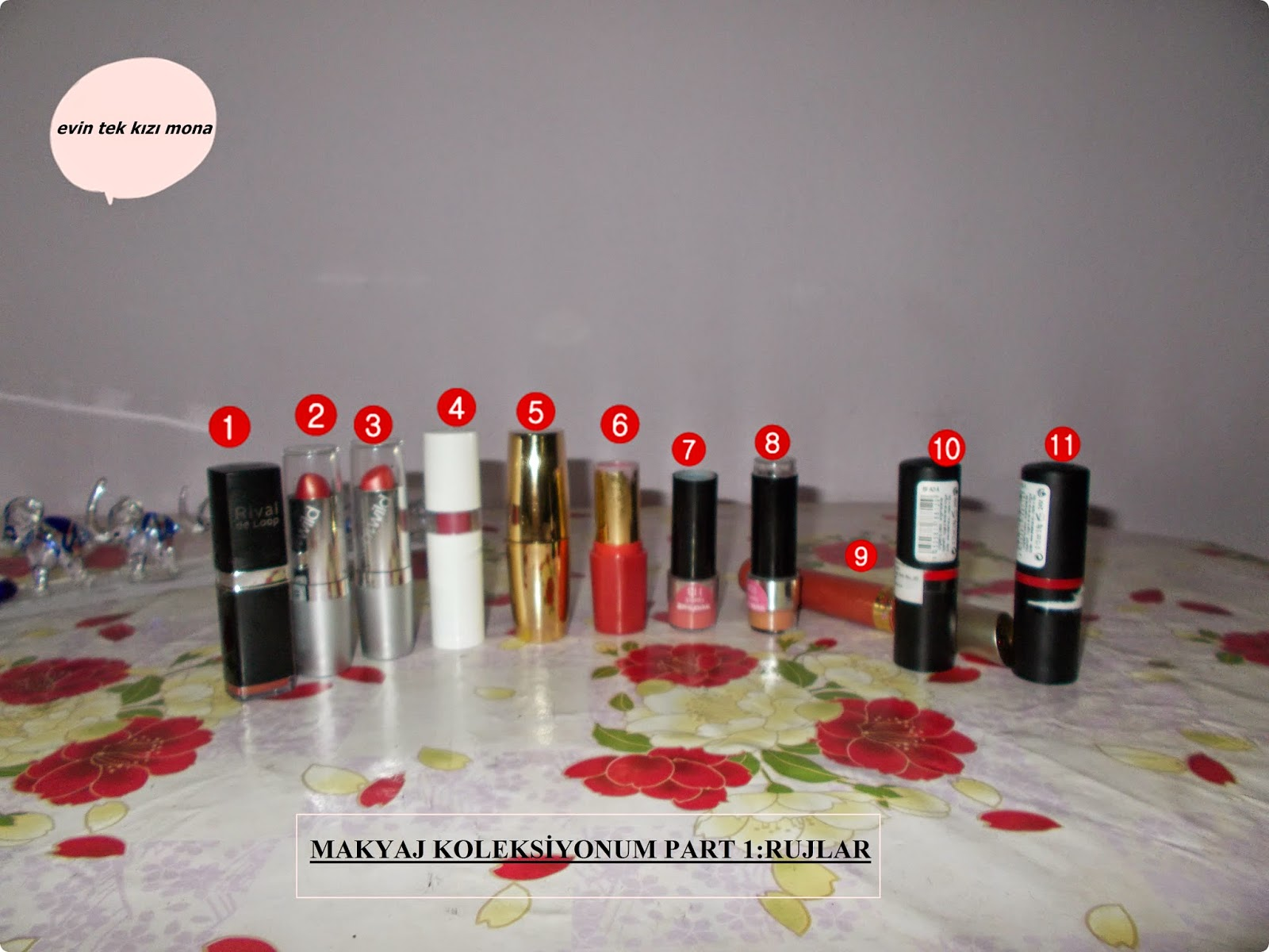 make up collection:lipstick
