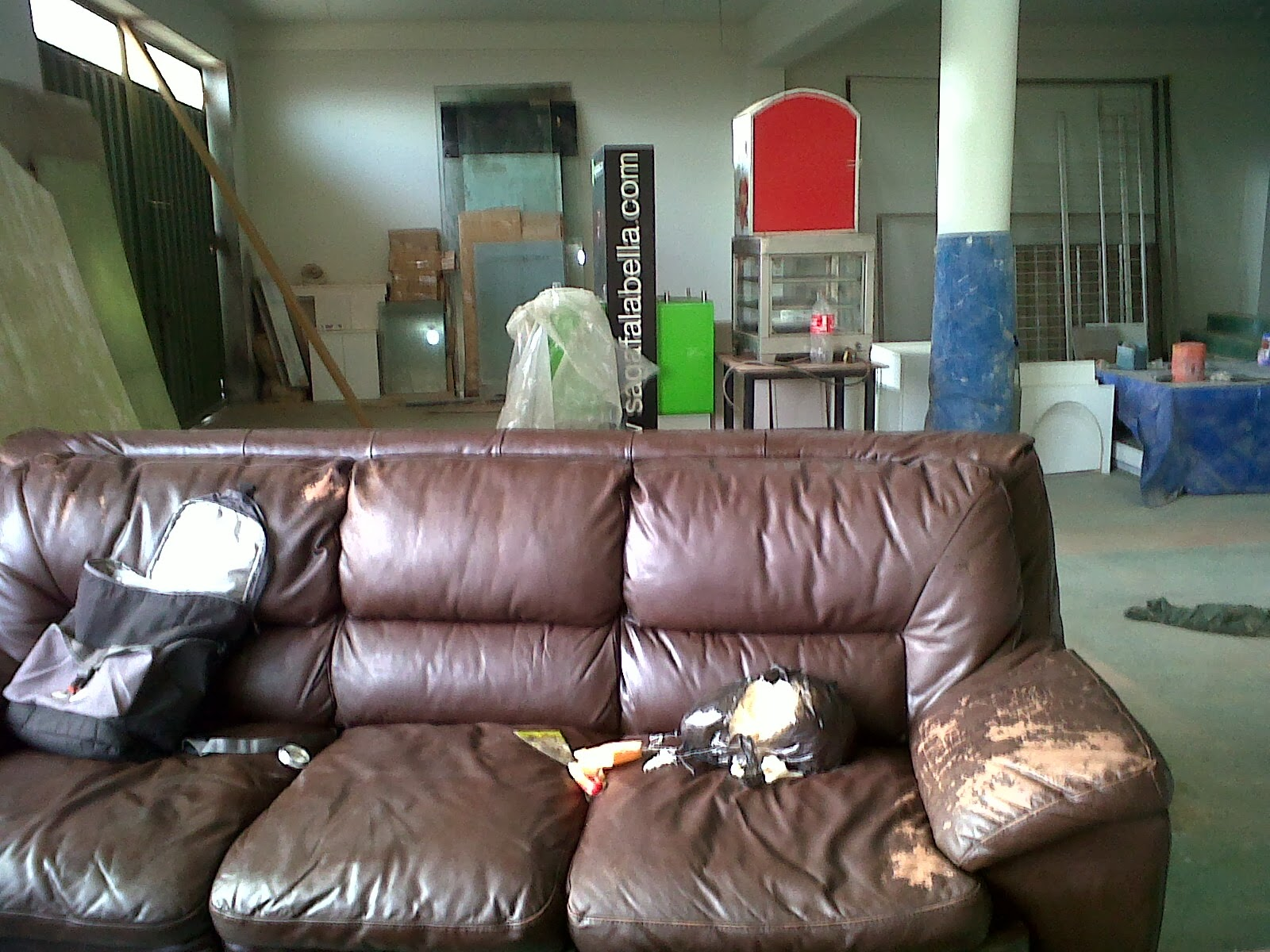 Excepcional Muebles De Cuero Sofá Tapizado Componente - Muebles Para ...
