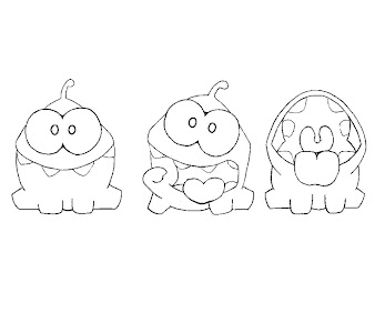 #4 Cut The Rope Coloring Page