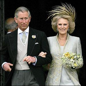 Royal Wedding: Prince Charles and Camilla Parker Bowles