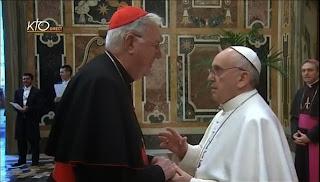 Pope firing Cormac