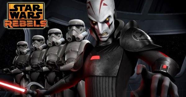 """Imagen promocional del """"Inquisidor"""", principal villano de Star Wars Rebels"""